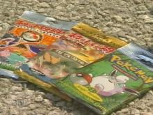 Raleigh police are working on a costly cartoon caper. Thieves broke into Holly's Hallmark Store at the Fayetteville Street Mall and stole $3,500 worth of Pokémon cards.(WRAL-TV5 News)