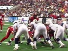 The Carolina Cobras played the season's final home game Friday night in Raleigh.(WRAL-TV5 News)
