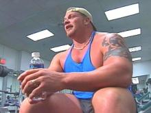 Johnny Perry knows his way around a weight room. The 6-foot-6-inch, 366-pound man from Zebulon will participate in the World's Strongest Man competition.(WRAL-TV5 News)