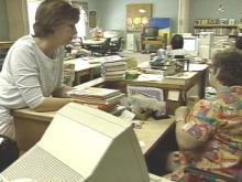 "A Johnston County library is ""throwing the book"" at people with overdue books.(WRAL-TV5 News)"