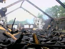 Fire Destroys Cumberland Church