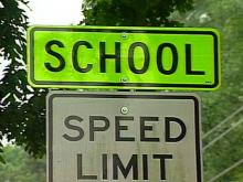 New Eye-Popping Signs Alert Drivers to School Zones