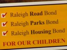 Raleigh voters will vote on state, county and city bond measures next month.(WRAL-TV5 News)