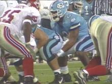 On Saturday, the N.C. State-UNC football game returns to the Triangle after two years in Charlotte. Tar Heel fans and business owners are welcoming the game's return.(WRAL-TV5 News)