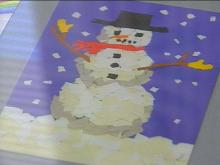 Pediatric Patients Design UNC Holiday Cards