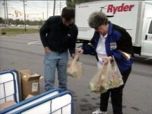 Saturday&#039;s food drive will help food banks around the area.(WRAL-TV5 News)