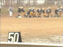 About 4,000 athletes, coaches and parents came to Raleigh Saturday for the regional Pop Warner football tournament.(WRAL-TV5 News)