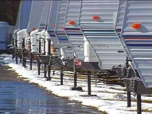State Offers Discounts on Travel Trailers Used After Hurricane Floyd