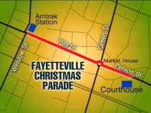 Fayetteville: Here Comes Santa Claus!