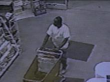 Wilson police are looking for the man in this photo.(WRAL-TV5 News)