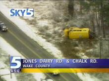 Overnight Snow Causes Slick Roads, Dozens of Wrecks