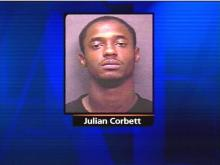 Julian Corbett was arrested in connection with last year's murder of Fayetteville grocery store manager Scott Adams.(WRAL-TV5 News)