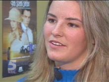 Briana Graham is always on the go at Harrells Christian Academy. The three-sport athlete loves to participate in the theater and chorus.(WRAL-TV5 News)