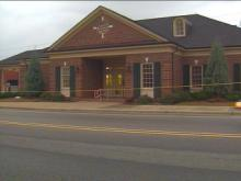 Two men are in custody Monday after they tried to rob a First Citizens Bank in Angier.(WRAL-TV5 News)