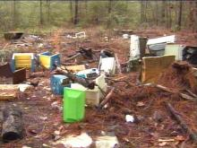 "Volunteers will clean ""Lost City"" Saturday morning.(WRAL-TV5 News)"