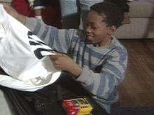 Over the last three years, Tyquan Mikell has struggled to overcome many hardships, but the young Durham boy is now an example of hope for children all over the country.(WRAL-TV5 News)