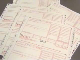 Blank W-2 Forms