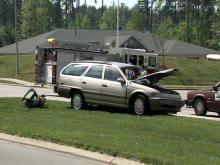 Cary Accident Sends 3 To Hospital
