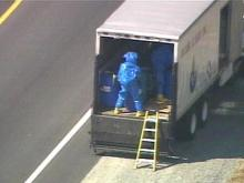 Hazmat Crews Clear Chemical Spill On U.S. 64 In Nash County