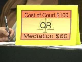 Mediation Sign