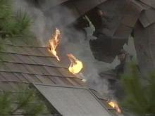 Lightning Blamed For House Fires In Cary, Morrisville