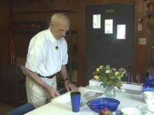 Durham County Man Creates Table To Take Care Of Dishes