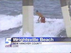 As Storm Threatens, Wrightsville Carries On