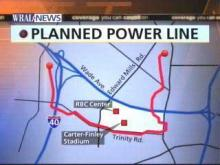 Power Line Map