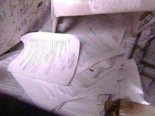 Dumped Documents Raise Concern