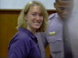 ann miller smiling death penalty hearing