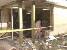 Damaged Johnston Store