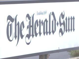 Herald-Sun Sign