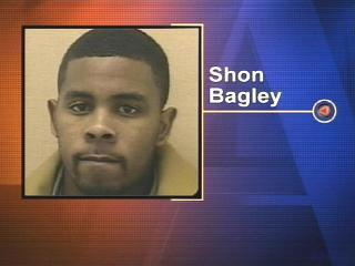 Shon Bagley was sentenced on Dec. 12, 2007, to prison for the 2004 killing of a prostitute who was stabbed 70 times.