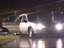 severe weather car accident