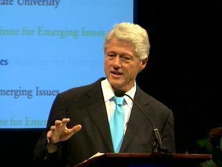 bill clinton - emerging issues 2