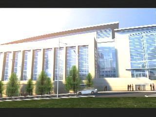 Convention Center Animation