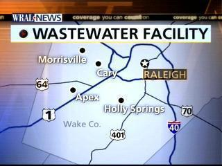 Wastewater Treatment Facility Map