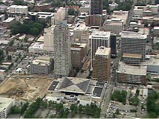 Aerial View Of Raleigh