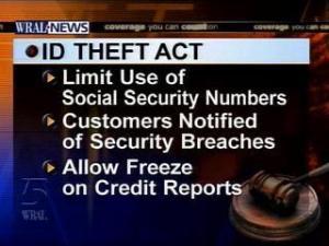 identification theft act graphic