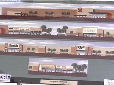 Wilson Shopping Center Illustration