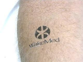 WakeMed Tattoo