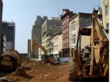 Fayetteville Street Construction