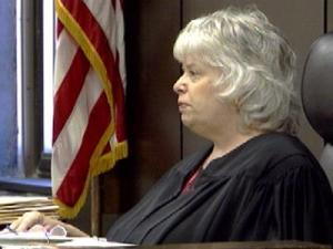 Judge Evelyn Hill Presiding In Court