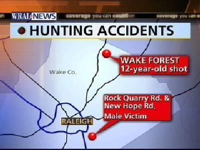 Two Shot In Separate Hunting Accidents