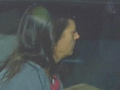 Marion Barringer in Car