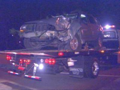 SUV Raleigh Accident