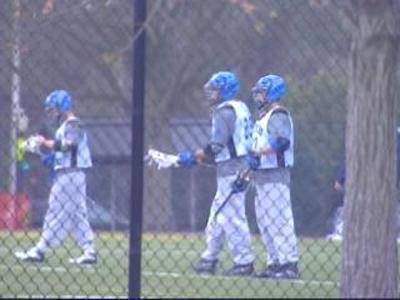 Duke Lacrosse Players at Practice