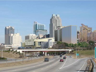 Artist Rendition Of Future Raleigh Skyline