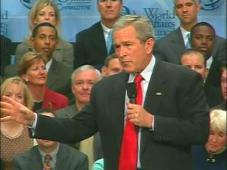 Bush Charlotte Foreign Policy