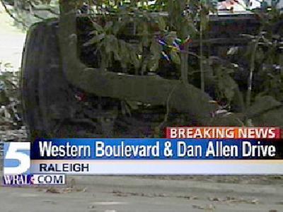 western boulevard wreck